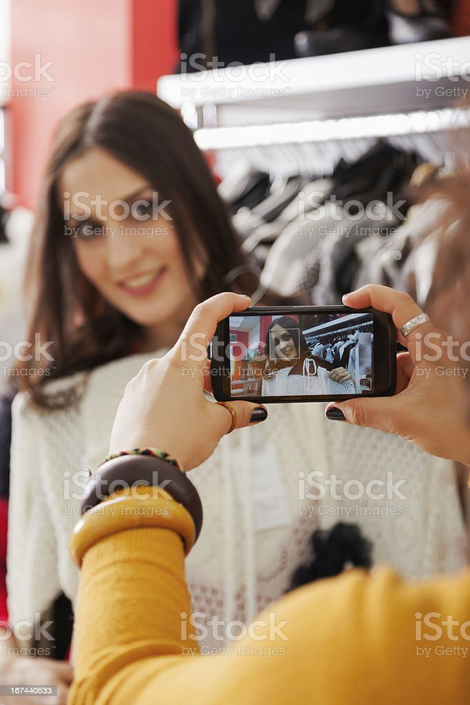 Photo of a new dress royalty-free stock photo