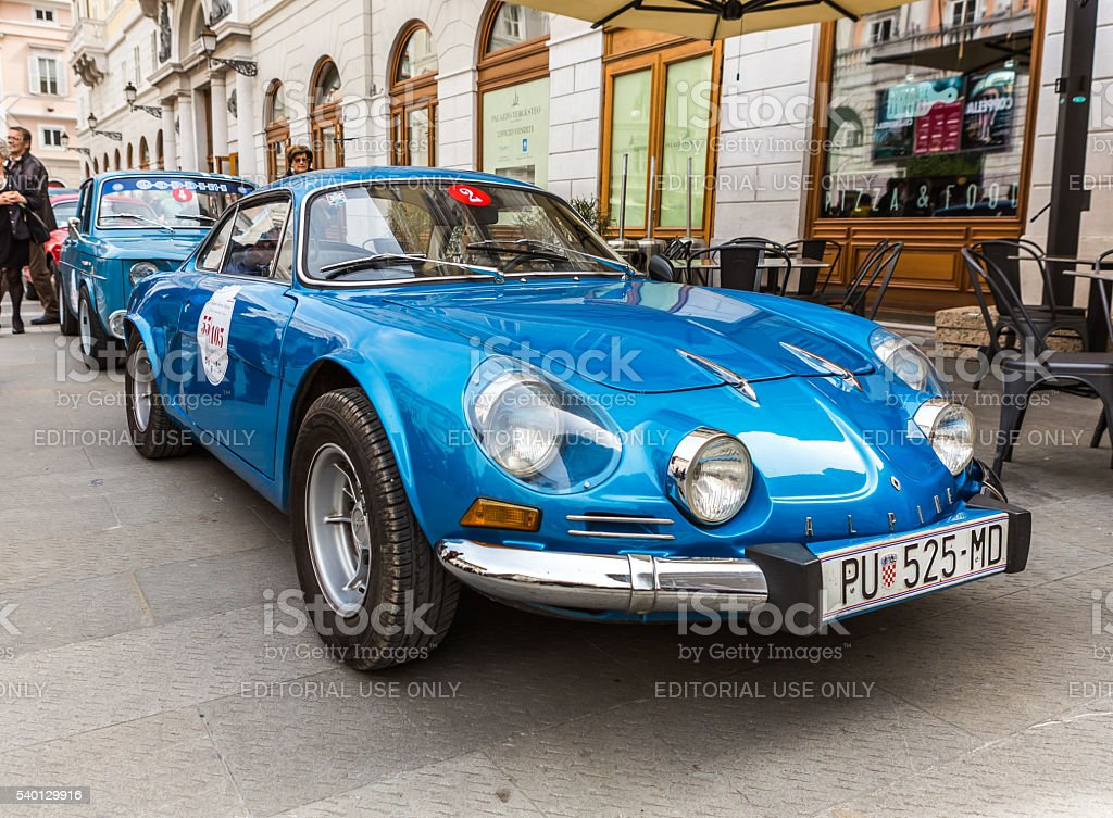 Photo of a Renault Alpine 1300 Berlinette stock photo