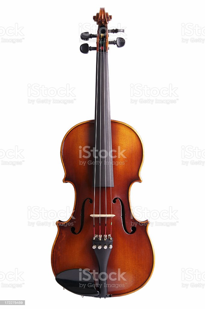 Photo of a violin without a bow stock photo