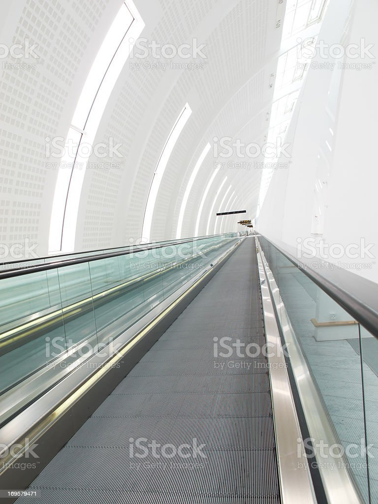A photo of airport architecture royalty-free stock photo