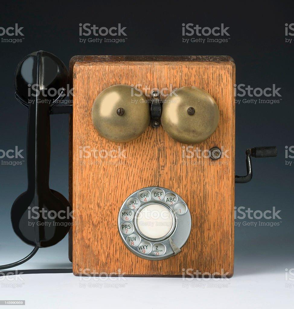 Photo of Antique Phone stock photo