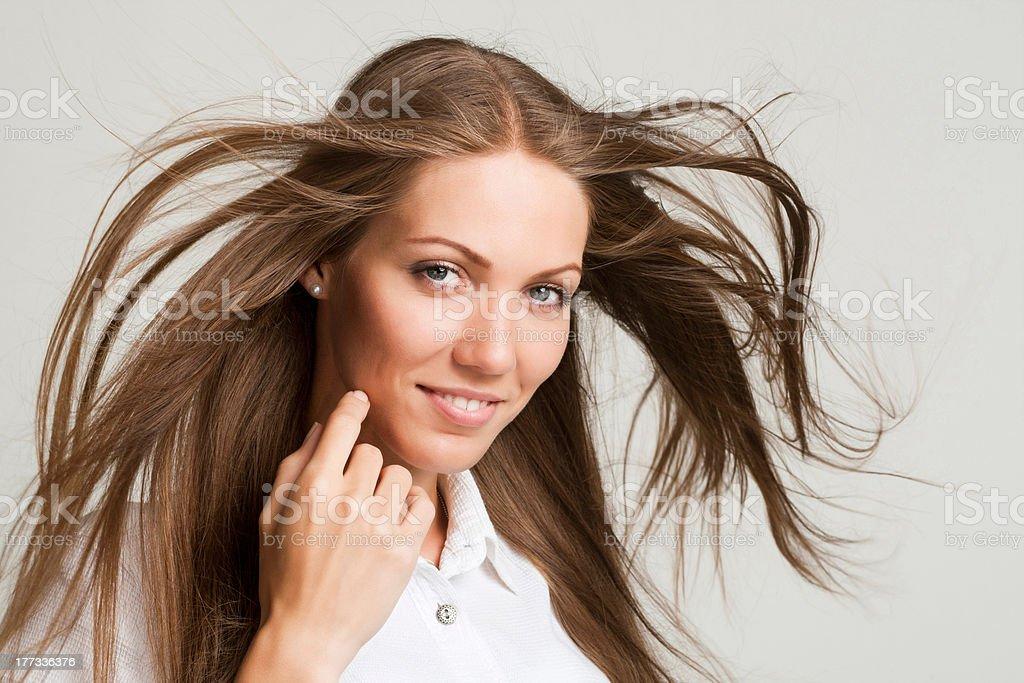 Photo of beautiful woman stock photo