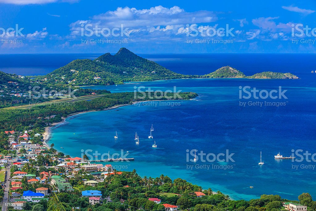 Photo of Belair, Carriacou stretch of beaches stock photo
