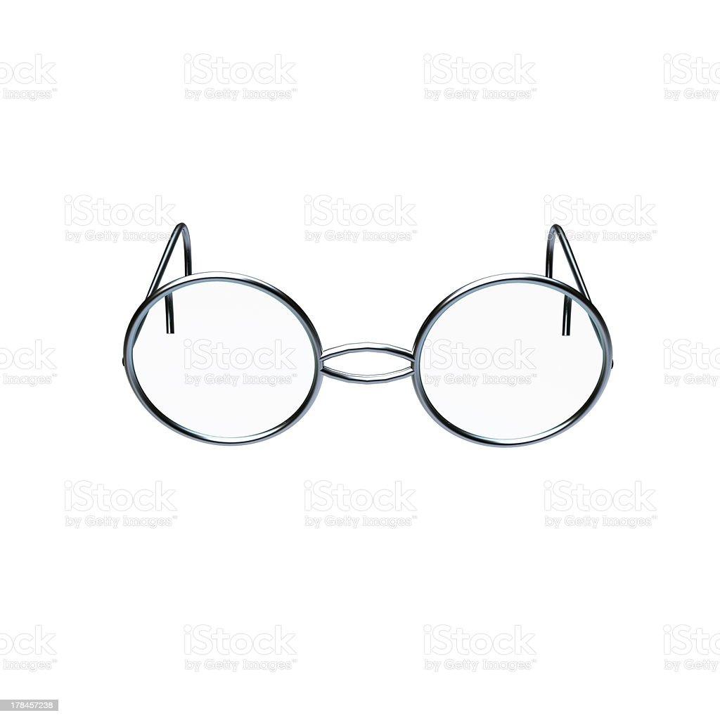 Photo of chrome glasses stock photo