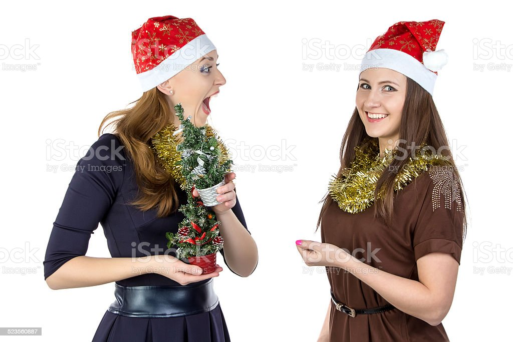 Photo of dirty trick in Christmas day stock photo