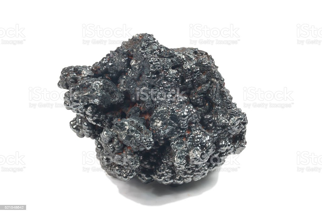 photo of Hematite mineral stock photo