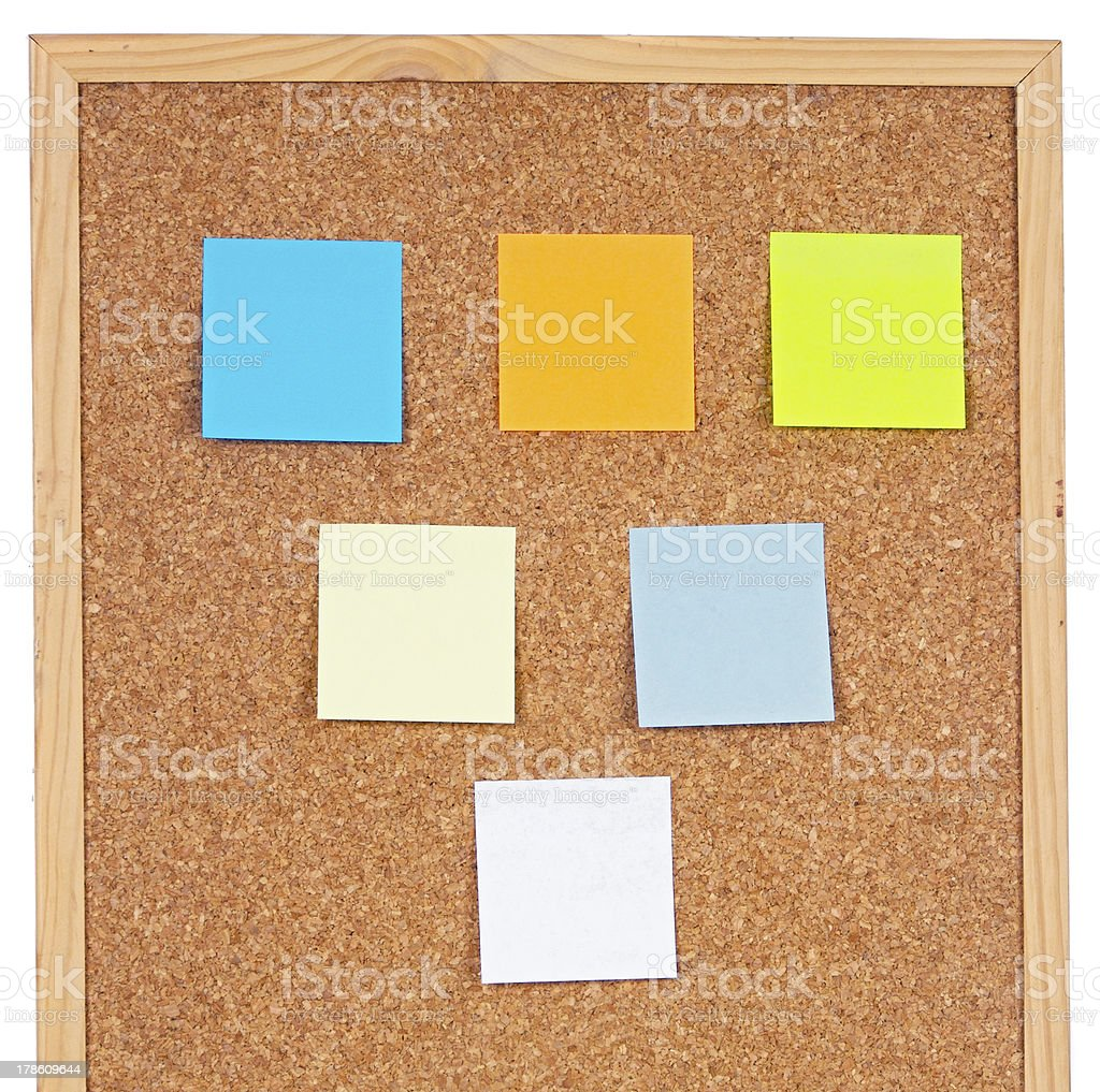 Photo of notes royalty-free stock photo