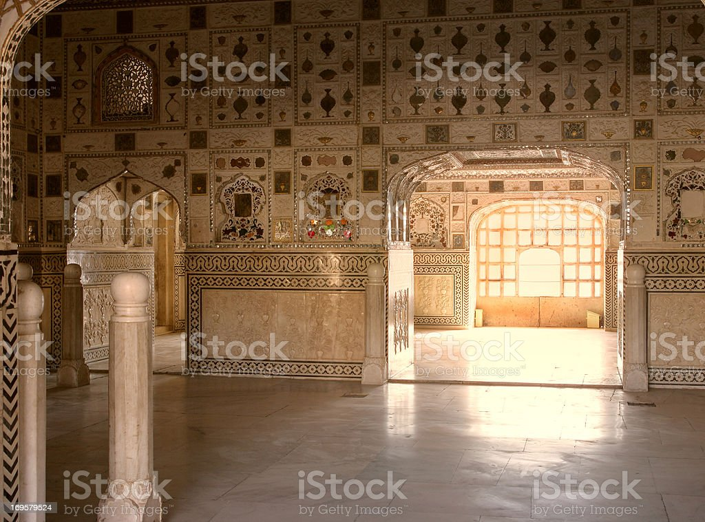 A photo of old muslim architecture in India stock photo