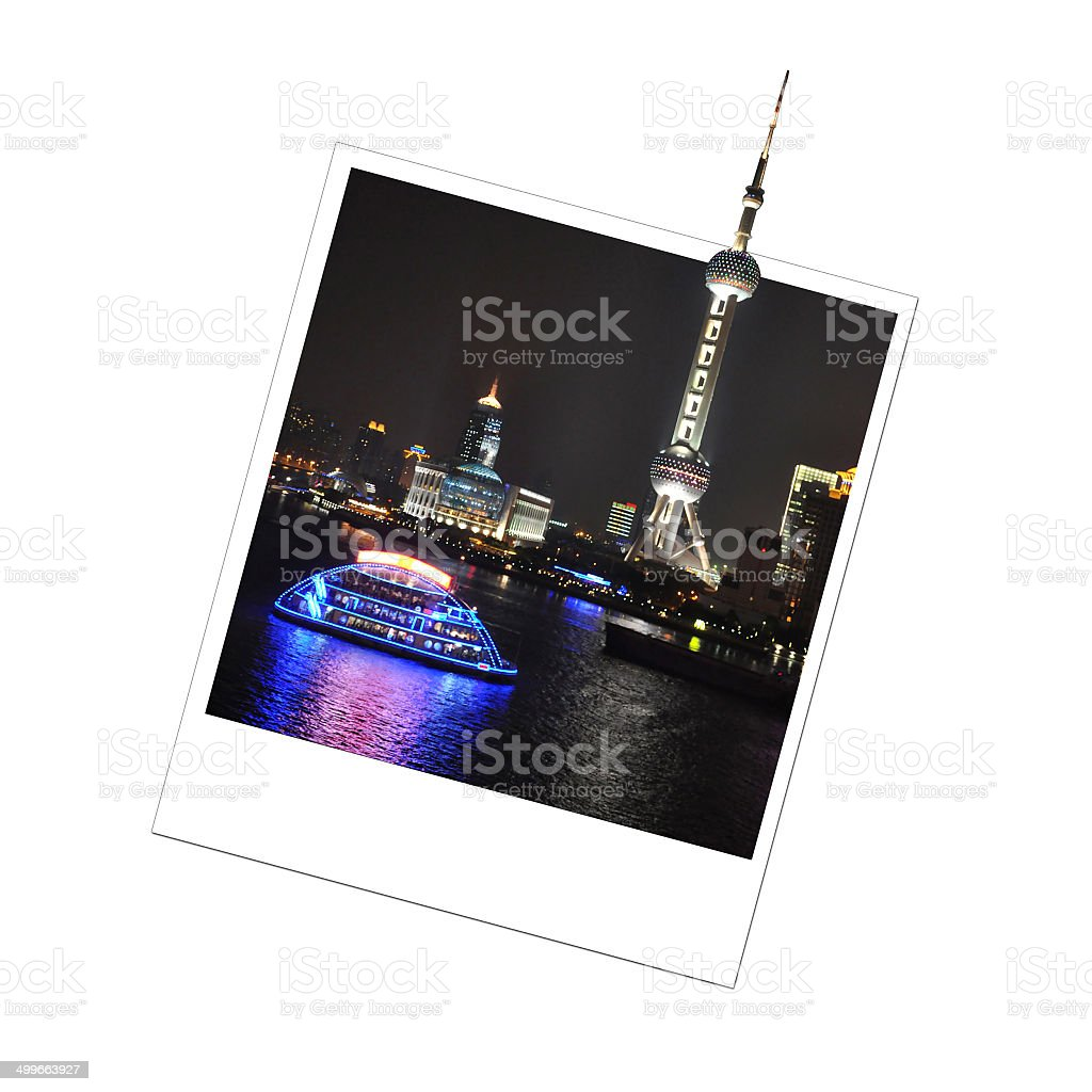 Photo of Pearl Oriental Tower, Shanghai, China stock photo