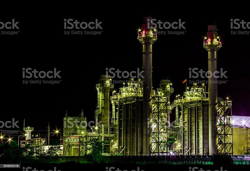 Photo of power plant stock photo