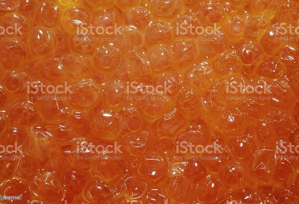 photo of red caviar background royalty-free stock photo