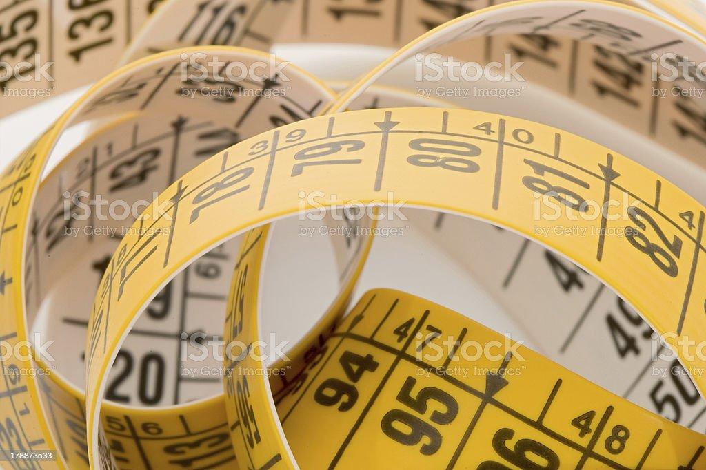 Photo of tape bundled stock photo