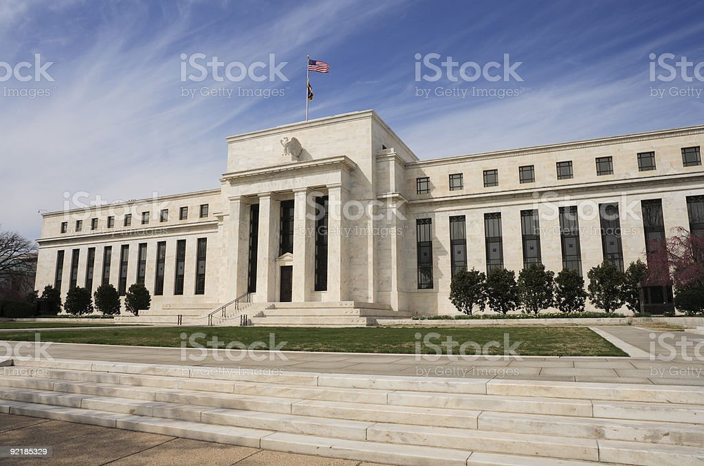 Photo of The United States Federal Reserve Building royalty-free stock photo