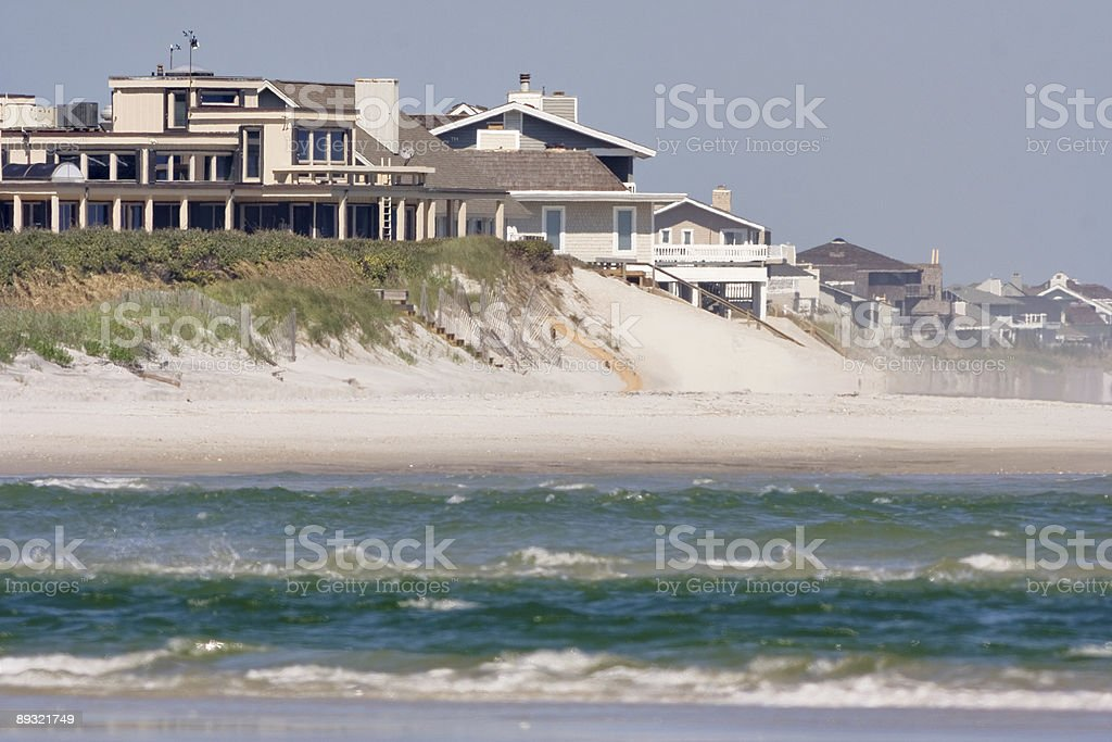 A photo of Topsail Island in Wrightsville stock photo