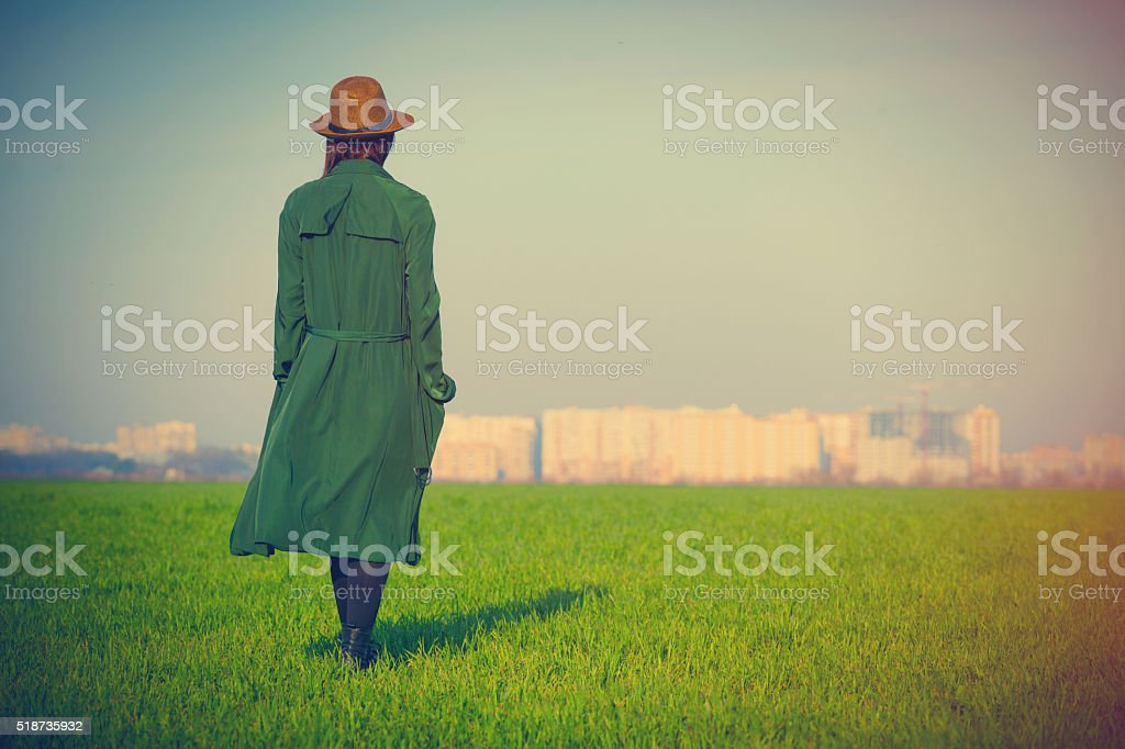 photo of young woman stock photo