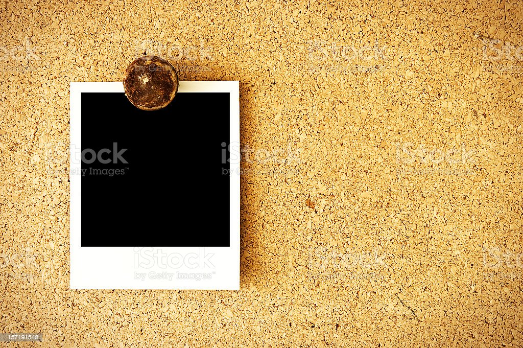 Photo on Message Board royalty-free stock photo
