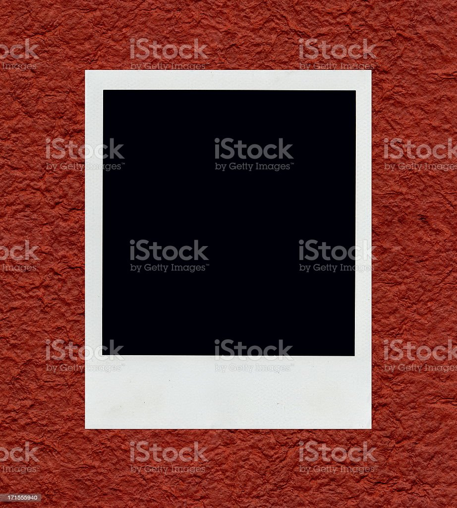 Photo on Red royalty-free stock photo