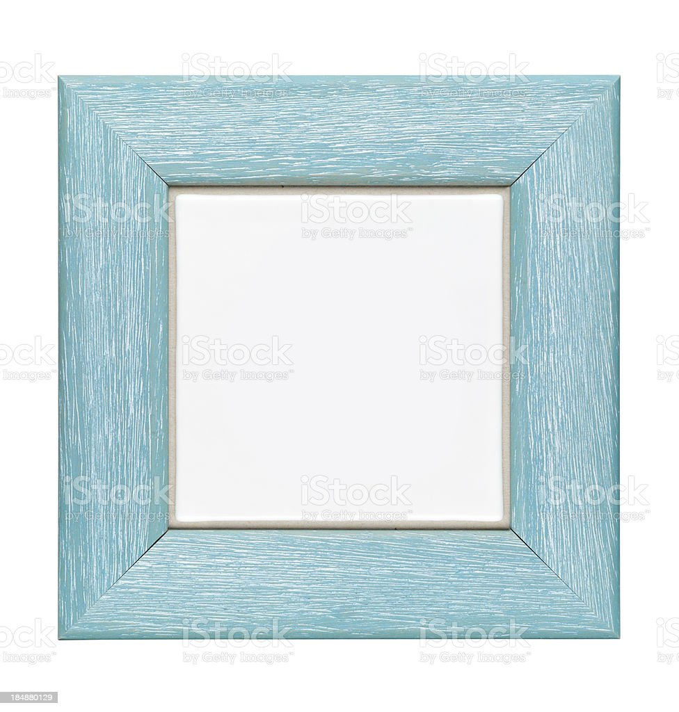 Photo or picture empty frame (objects whit clipping paths) royalty-free stock photo