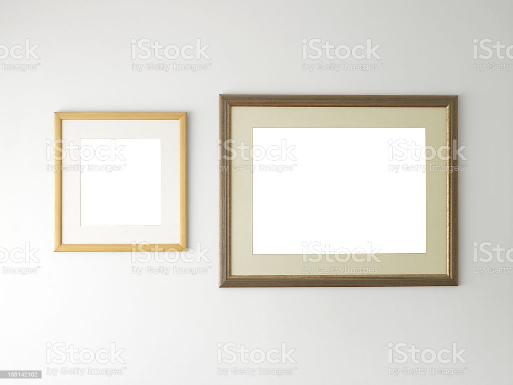 Photo or picture frames royalty-free stock photo