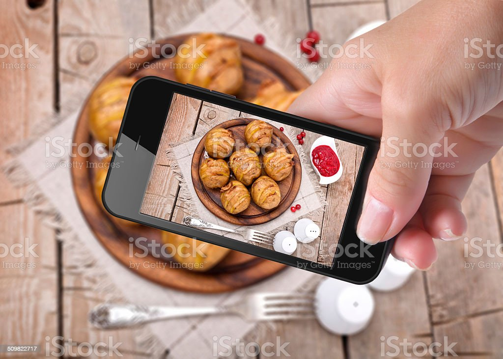 photo potato stock photo