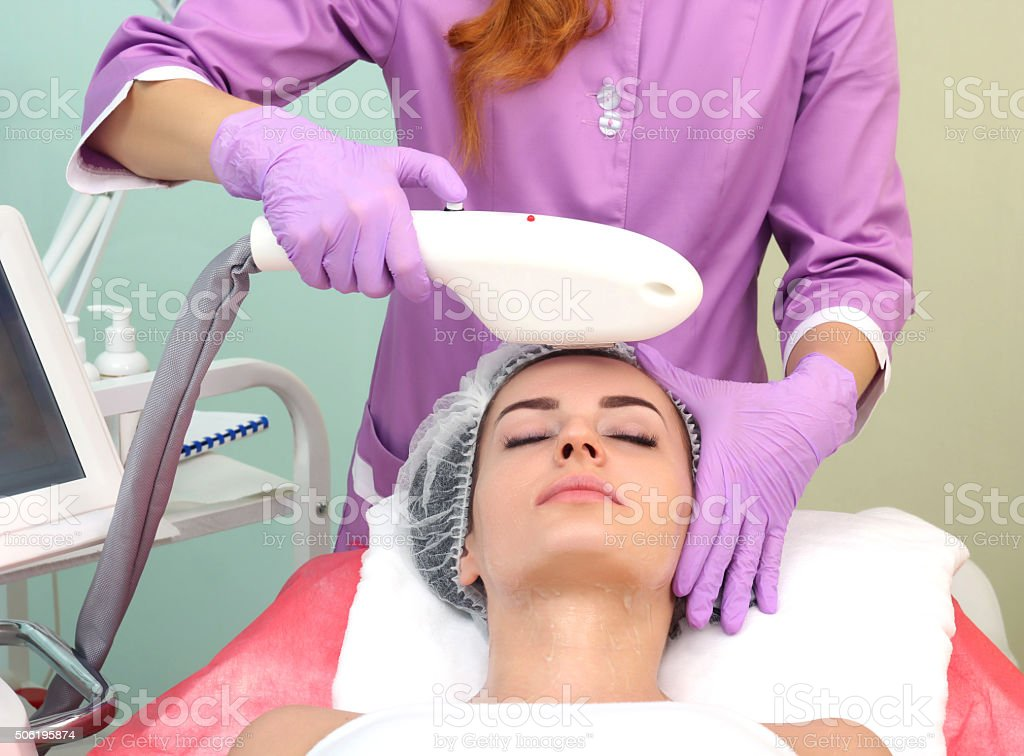 photo rejuvenation cosmetology royalty-free stock photo