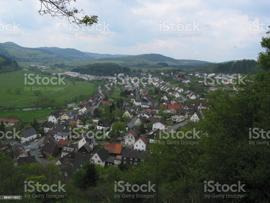 Fotosafari durch Bad Berleburg stock photo