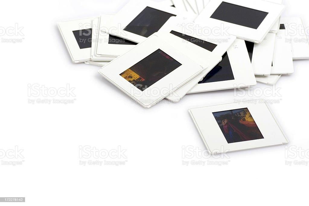 Photo slides royalty-free stock photo
