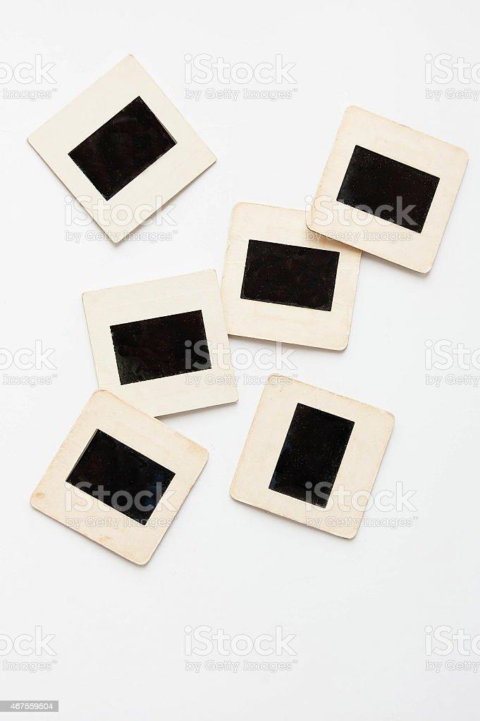 photo slides stock photo