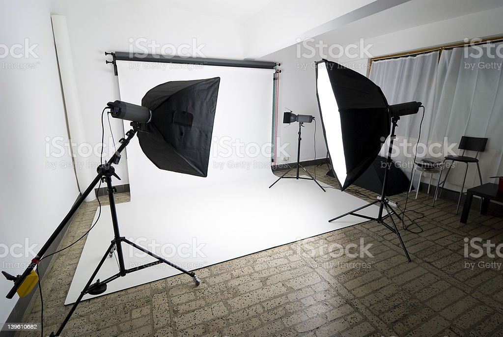 Photo studio royalty-free stock photo