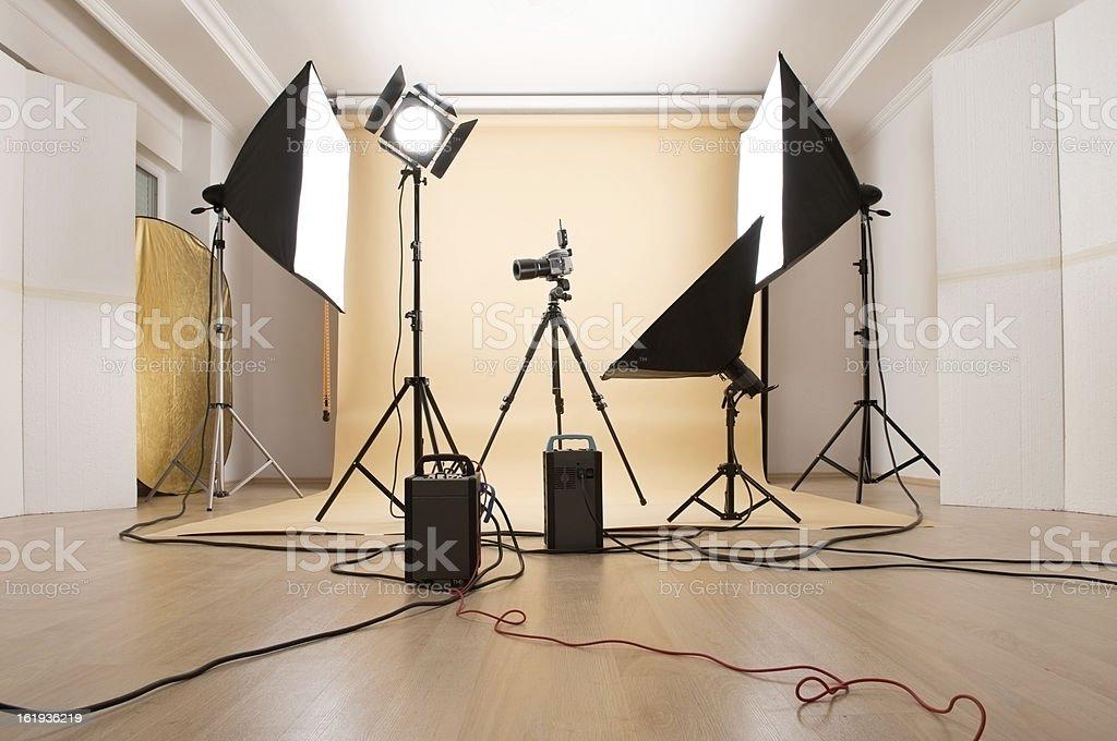 Photo Studio royalty-free stock photo