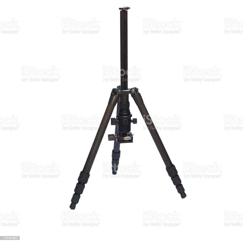 photo tripod stock photo