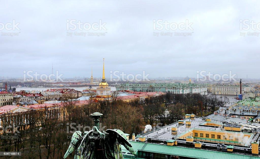 Photo view of Saint Petersburg stock photo