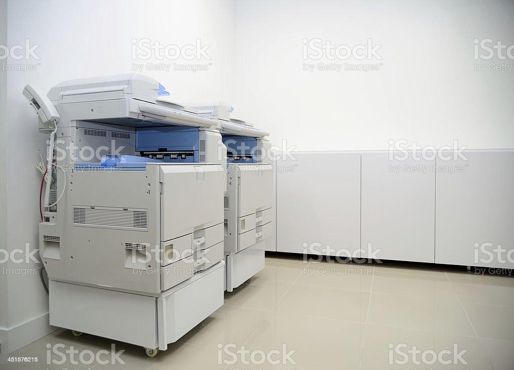 Photocopier machine. stock photo