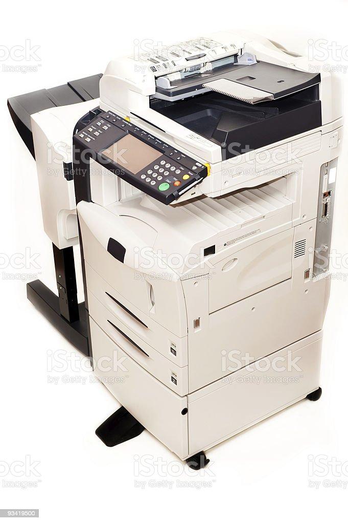 Photocopier royalty-free stock photo