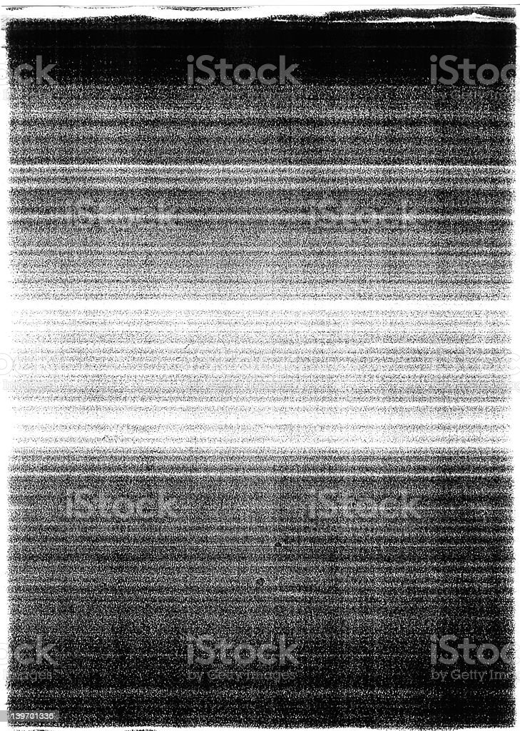Photocopy Dark top and Bottom stock photo