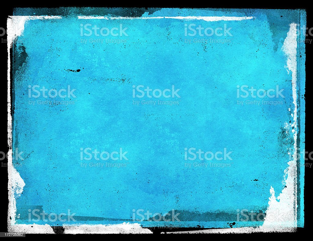 photocopy grunge in blue royalty-free stock vector art