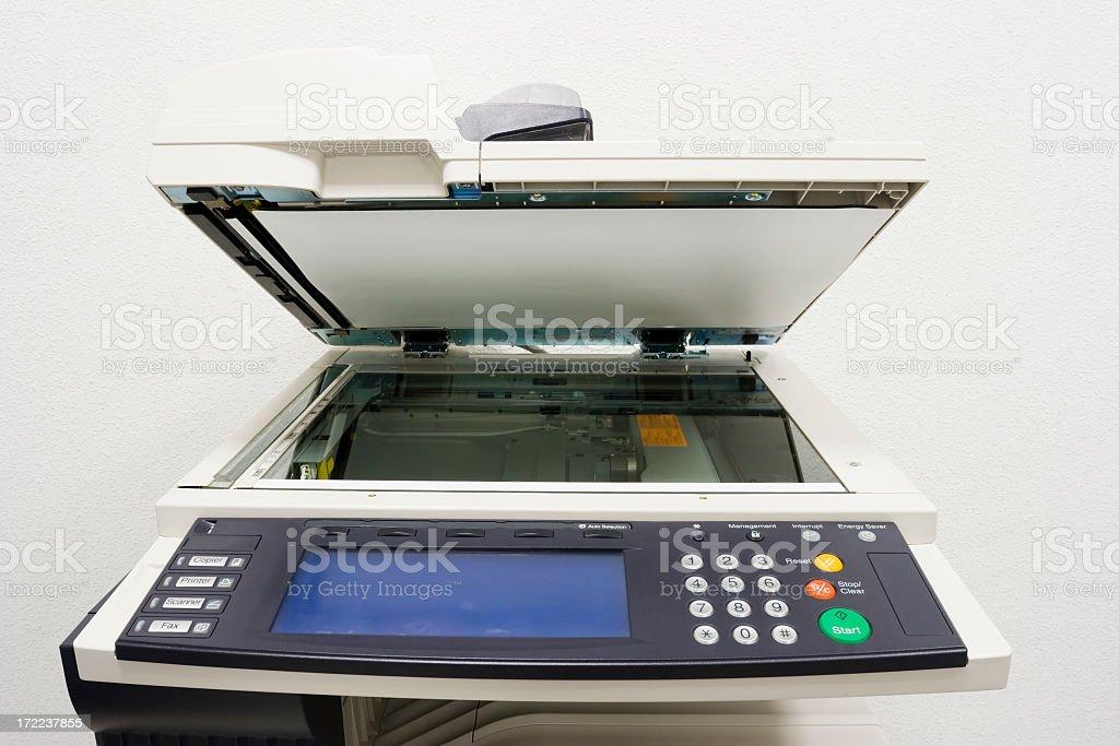 Photocopy machine royalty-free stock photo