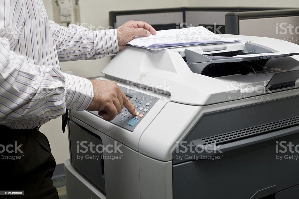 photocopy stock photo