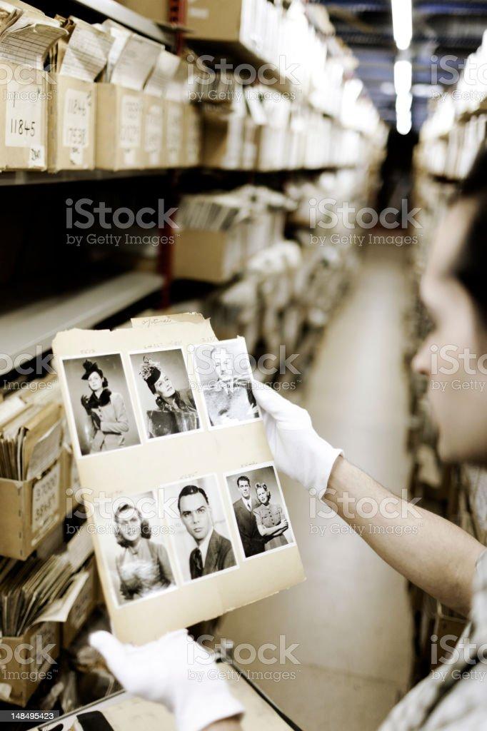 Photograph album. stock photo