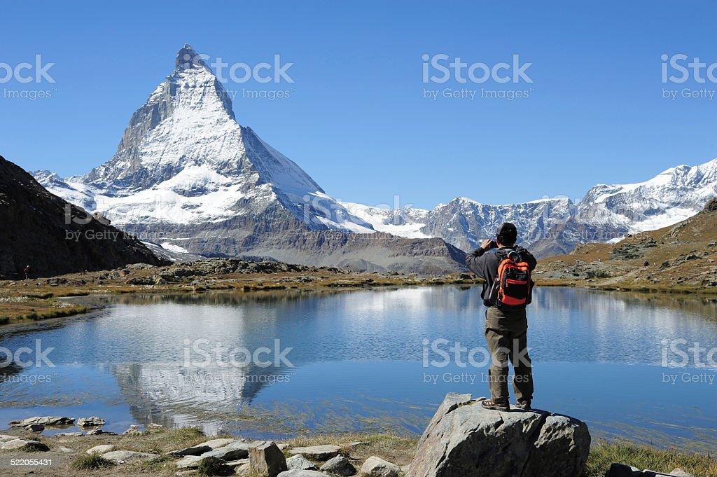 Photograph Matterhorn stock photo