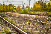 Photograph of a railway in Serbia