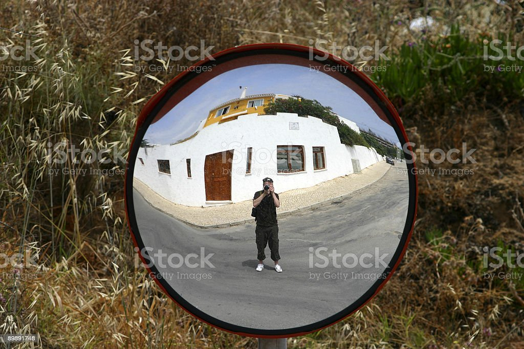 photographer in the way royalty-free stock photo