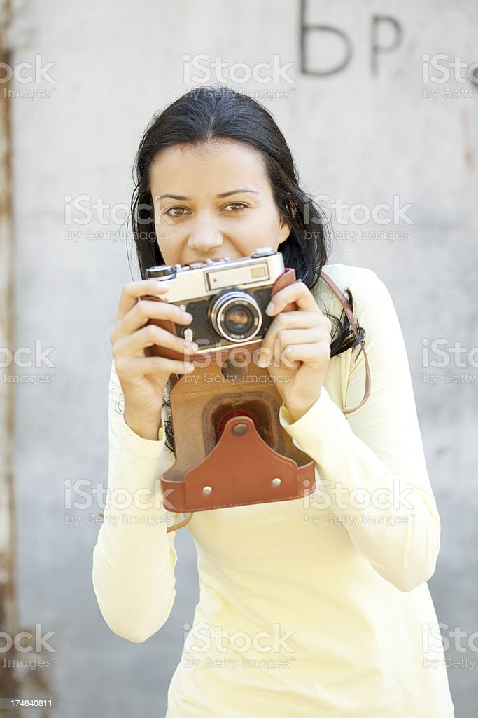 photographer is going to take picture royalty-free stock photo
