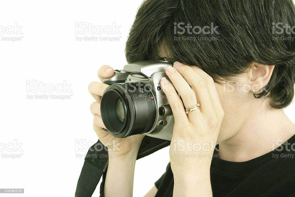Photographer royalty-free stock photo