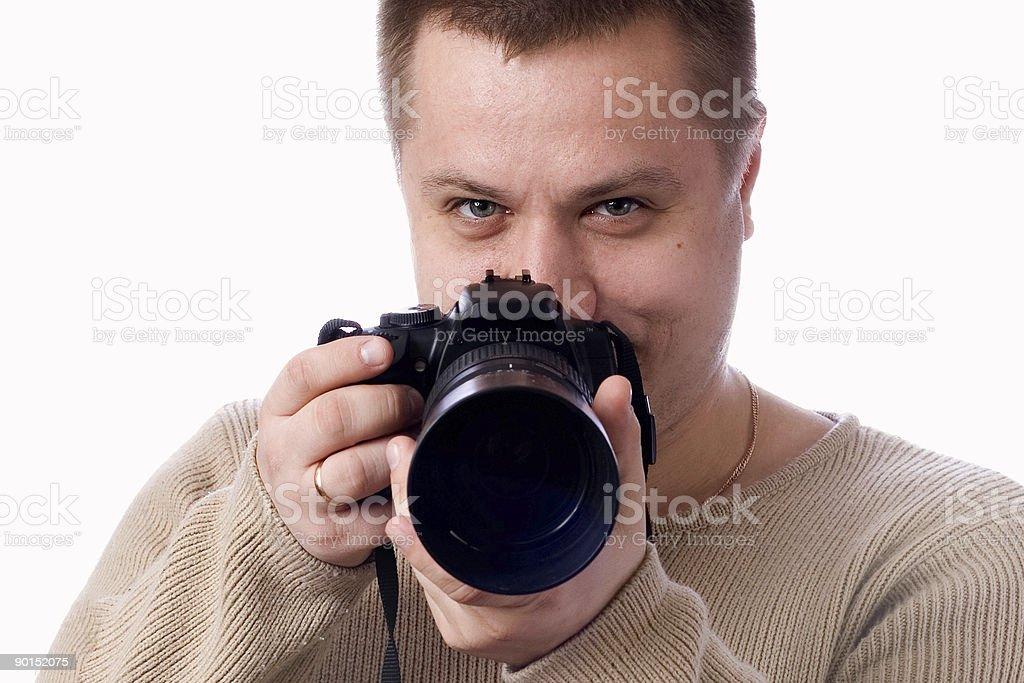 Fotógrafo foto de stock libre de derechos