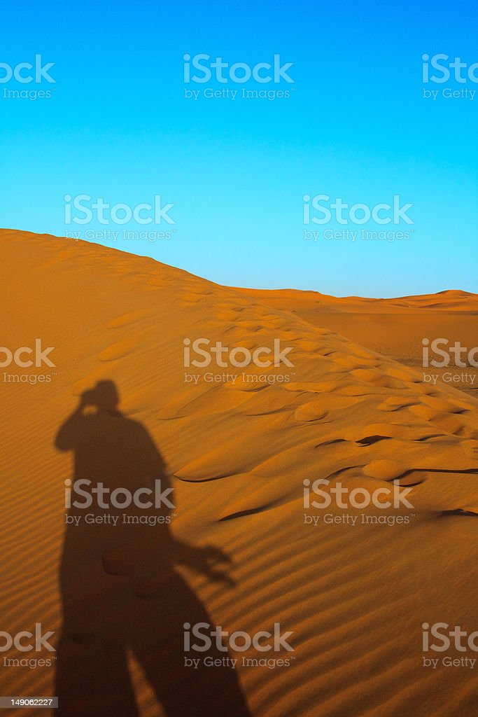 Photographer taking picture royalty-free stock photo