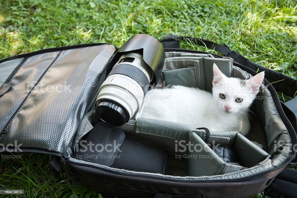 Photographers Equipment stock photo