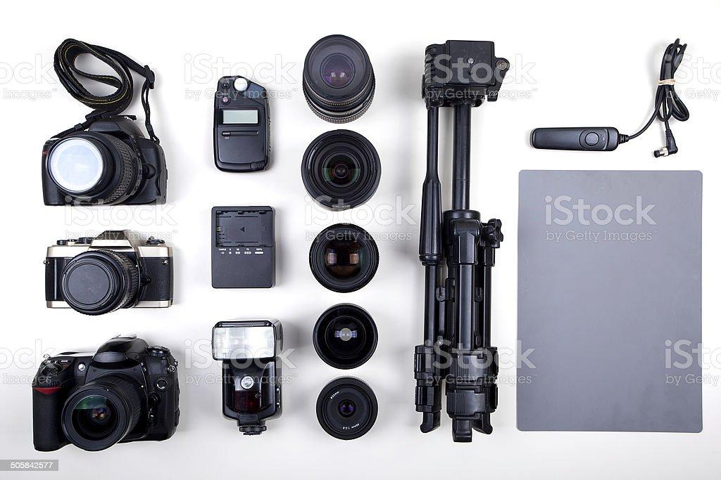 Photographic Equipment royalty-free stock photo