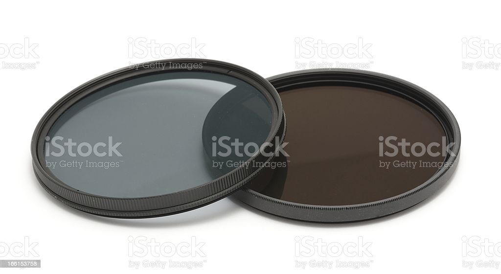 Photographic filters royalty-free stock photo