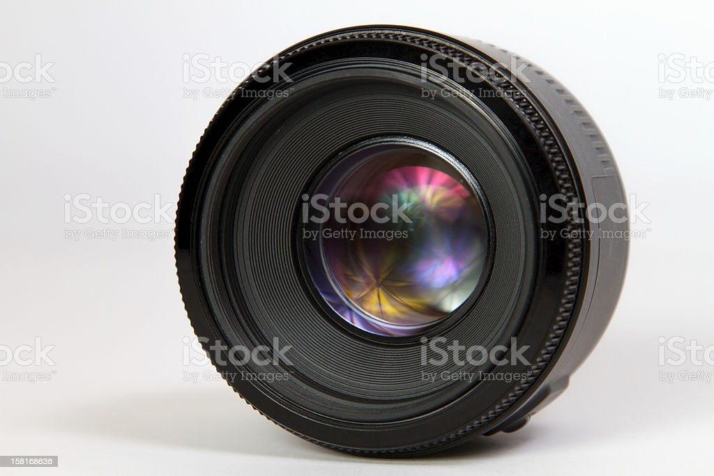 photographic lens royalty-free stock photo